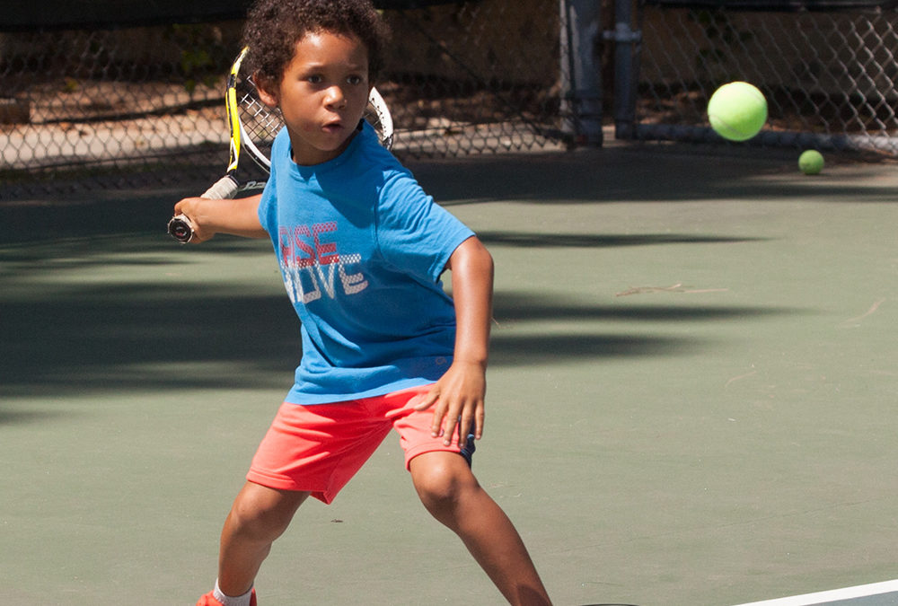 Sign up for Tennis Turtles: Small group classes for beginners, ages 7 – 11, at Sierra Vista Park