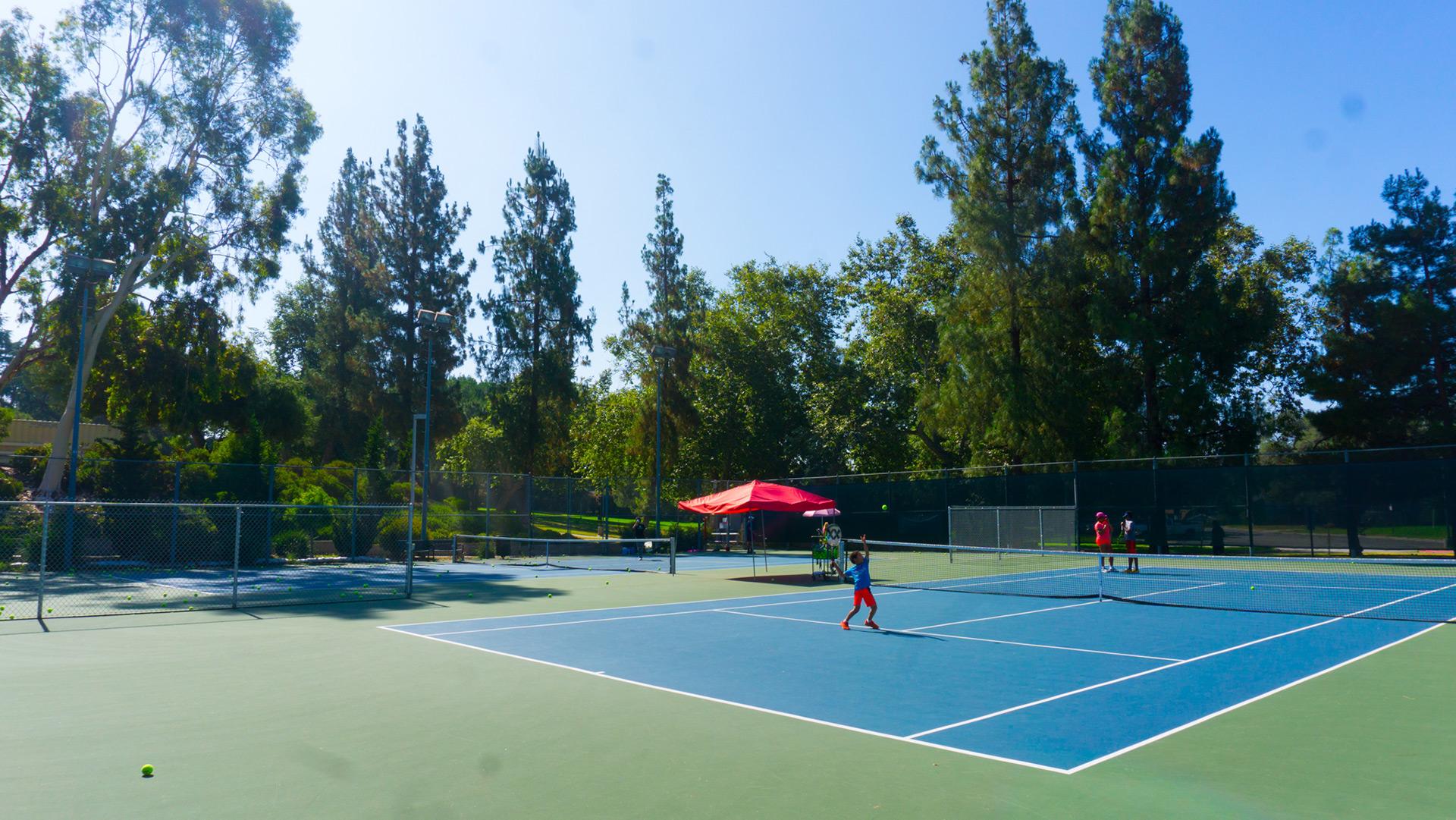 Loma Alta Park tennis court II