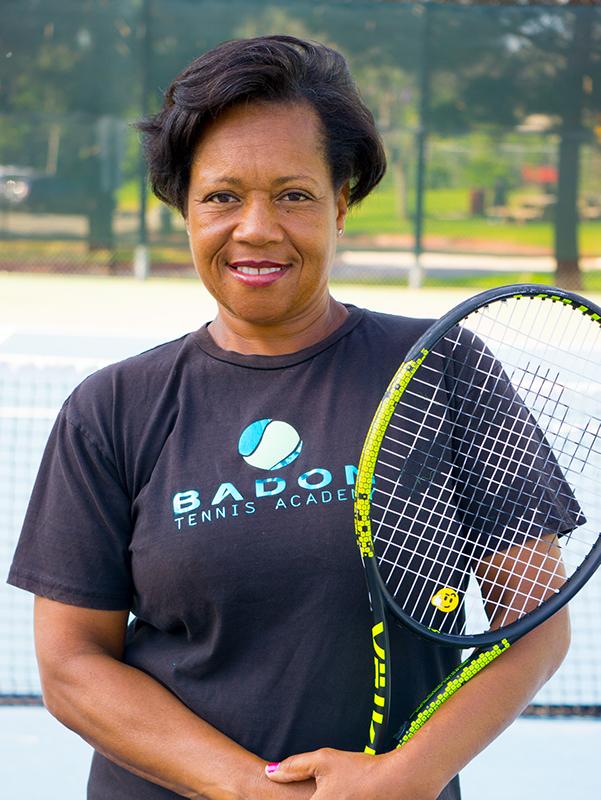 Veronica Badon tennis coach portrait