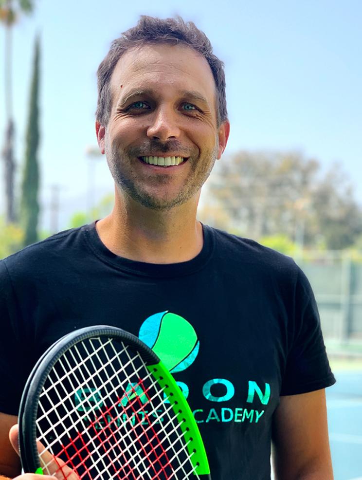 Tennis Coach Weston Hudson